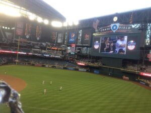 Giants beat the Dbacks on Wednesday 2-0 ... and I was there! #Lovebaseball