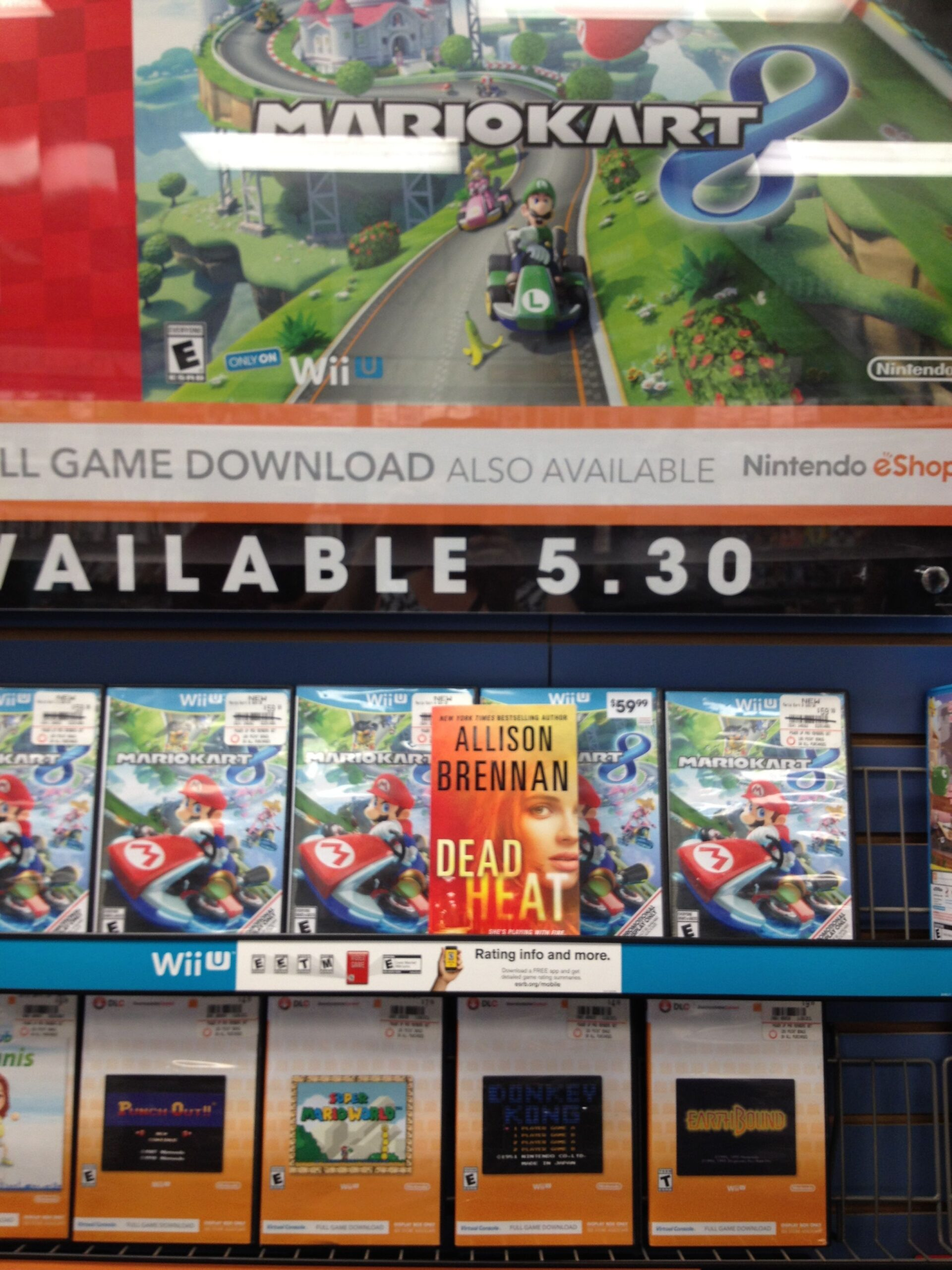 Mario Kart 8 -- yes, it's fun.