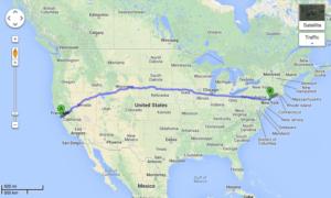 ca-to-ny-shortest-route