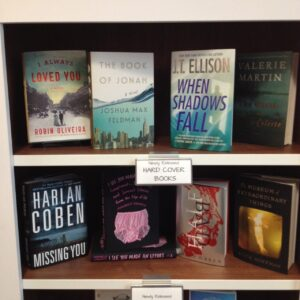 J.T. Ellison visited me in El Dorado Hills! At least her book was there ...